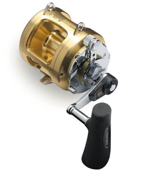 Shimano Tiagra Componentes 30a Big Game 2 Velocidades Carrete De Pesca de la palanca de arrastre Modelo ti-30a ti30a
