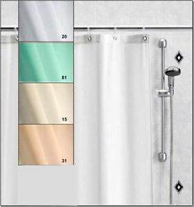 Duschvorhang nach Maß Narbonne bis 200 cm hoch fix fertig genäht ...
