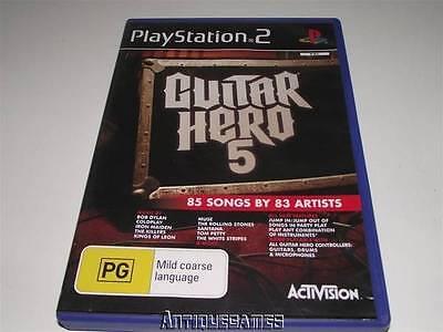 Guitar Hero 5 PS2 PAL Preloved *