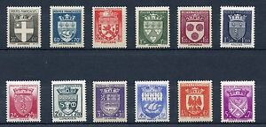 PROMO-STAMP-TIMBRE-FRANCE-NEUF-SERIE-N-553-564-ARMOIRIES-DE-VILLE-COTE-60