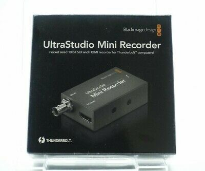 Blackmagic Design Ultrastudio Mini Recorder Capture Device 001846 New 9338716001839 Ebay