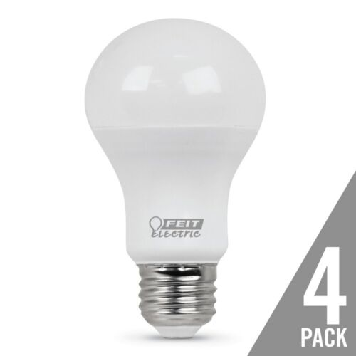 Feit 10W 5000K A19 LED Bulb 4-Pack 22569 Equals 60W E26 Medium Base
