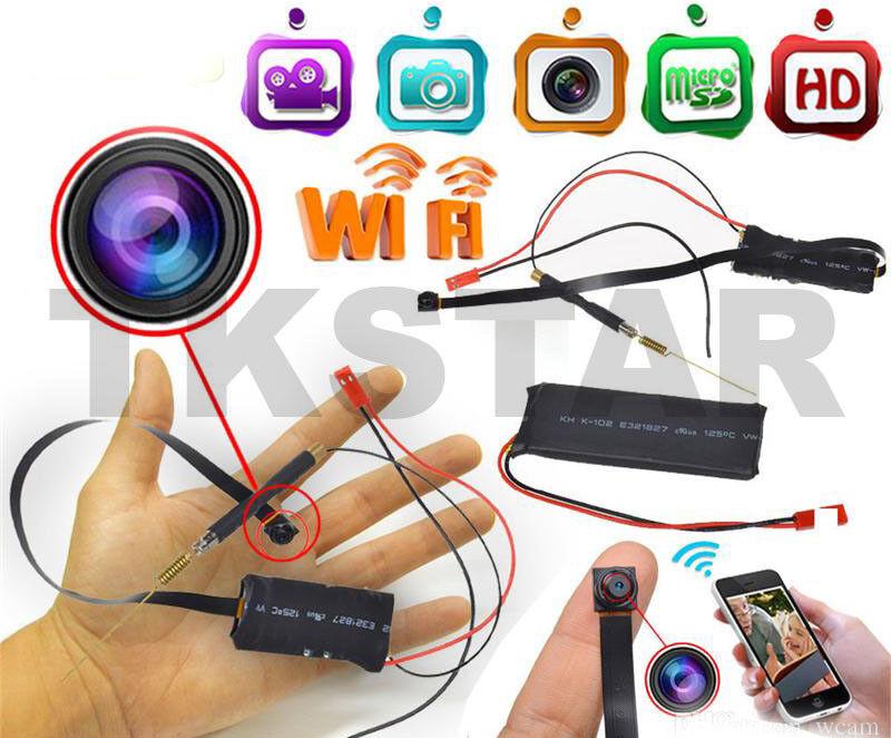 Mini Wifi P2P Ip Cámara HD de Vigilancia Mçodulo Live App 8GB Almacenamiento +
