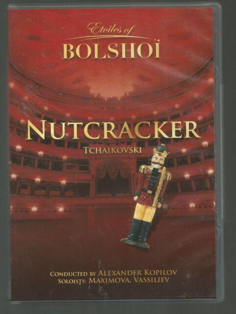 NUTCRACKER - The Bolshoi Ballet - Ekaterina Maximova - ALL REGIONS DVD - vgc