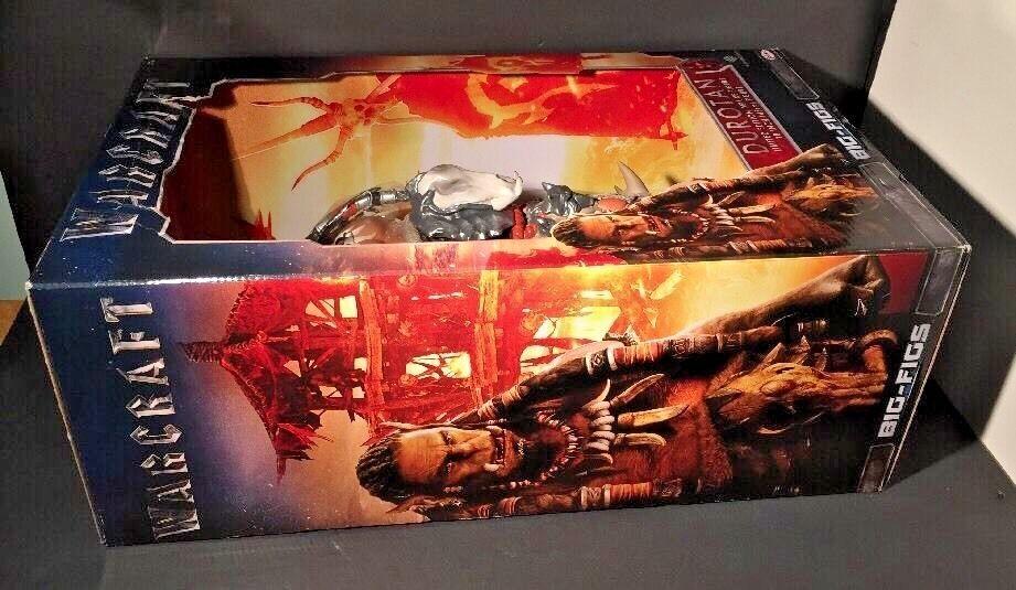 Big Figs WARCRAFT DUredAN 18  LIMITED LIMITED LIMITED EDITION Deluxe Figure w Axe JAKKS MIB 99b19e