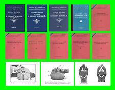 COLLECTION - PARACADUTE FALLSCHIRM PARACHUTE PARACAIDES AIRCRAFT Manual - DVD