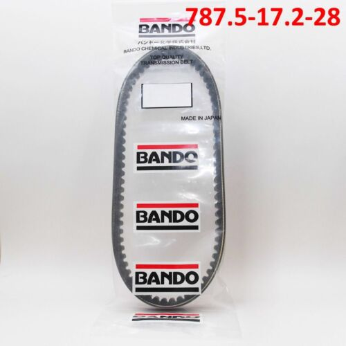 Bando Japan Drive  CVT Belt 787.5-17.2-28 GY6 Scooter Go-Karts ATVs