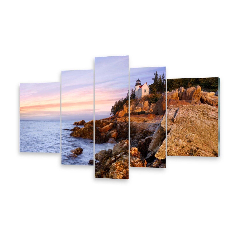 Mehrteilige Bilder Acrylglasbilder Wandbild Leuchtturm