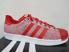 Adidas Originals Superstar Foundation zapatilla s79208 blanco rojo azul