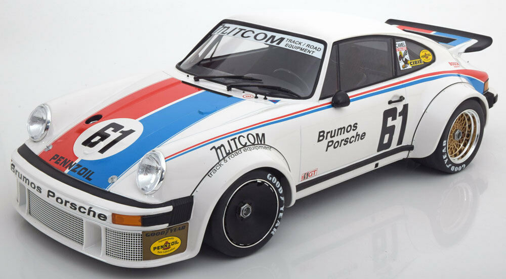 Minichamps Porsche 934 Brumos 24h Daytona 1977 Gregg Busby    61 1 12 Escala Nuevo 2ff00a