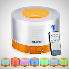 Diffuser Humidifier Essential Oil Ultrasonic Aroma Air Aromatherapy LED Purifier