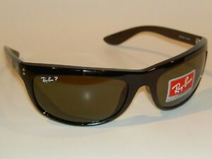 7f2b221d254 New RAY BAN Sunglasses BALORAMA Black Frame RB 4089 601 58 Glass ...