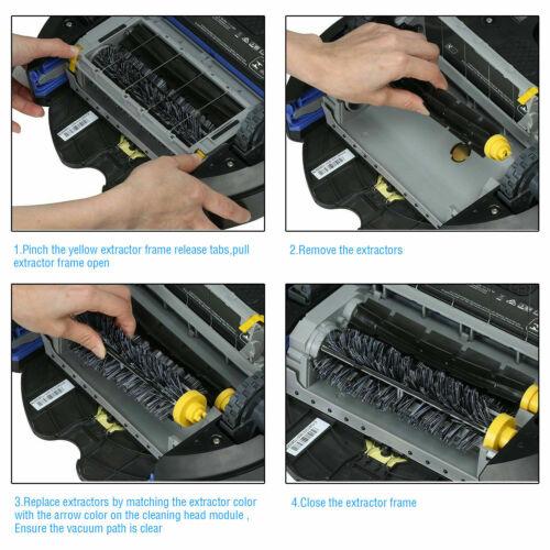 For iRobot Roomba 600 700 Series brush kit filters 610 620 630 650 750 730