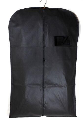 6PC Pack Costume Housse Sacs Respirant Homme Vêtement zippé robe longue Sac Voyage