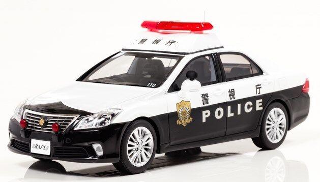H7181101 RAI'S 1 18 Toyota Crown  GRS200 2011 Police voiture patrolvoiture 110  limite acheter