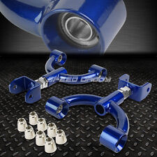 ADJUSTABLE REAR UPPER CAMBER CONTROL ARM KIT 90-05 MAZDA MIATA MX-5 MX5 NC BLUE