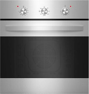 24 in. Convection EMPAVA Single Electric Wall Oven in Stainless Steel