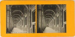 Italia Roma Vaticano I Loges Da Raphael Foto Stereo Vintage Analogica Ca 1900