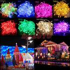 10/20/30/40/50M LUZ LED Navidad Exterior Decoración Boda Fiesta Partido TIRA