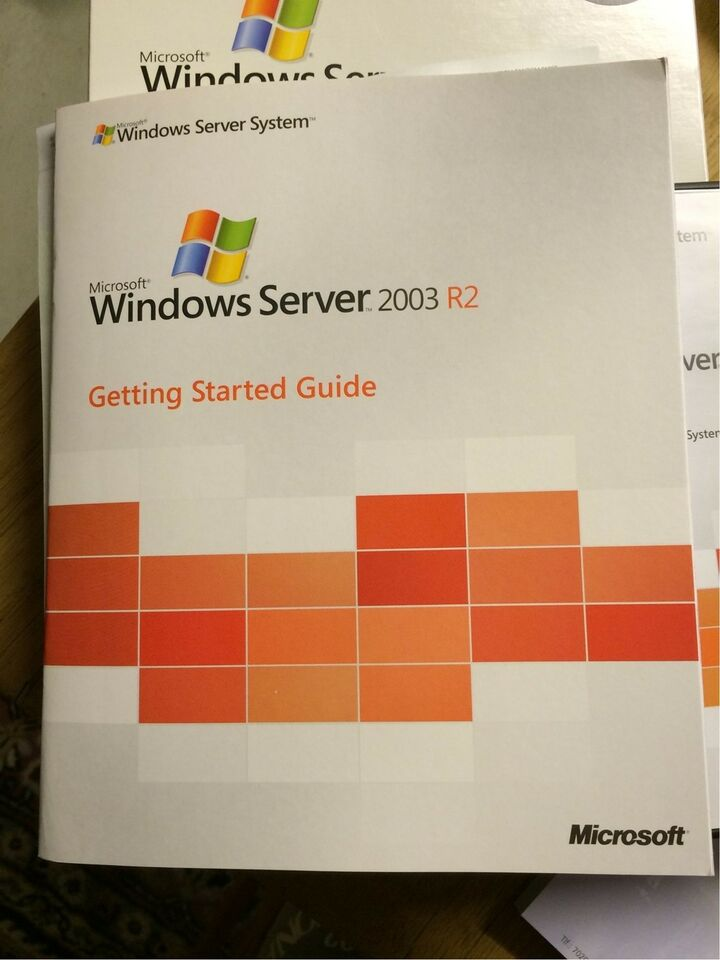 windows server 2003 r2 standard edition, 10 licens, Server