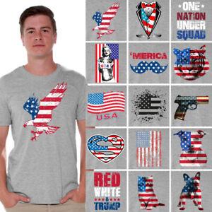 af1ccf4c3464c Usa flag shirt American flag shirt 4th of July T-shirt Independence ...