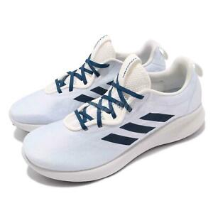 Details about adidas Purebounce Street M White Navy Mens Running Shoes BOUNCE Sneakers BC1038