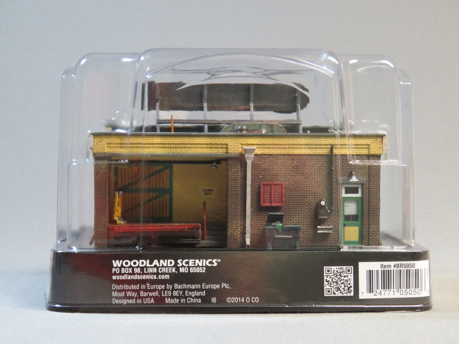 WOODLAND SCENICS HO SCALE J FRANK'S GROCERY STORE BUILT BUILT BUILT & READY gauge WDS5050 1baff8