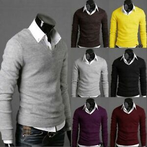 new york classic classic fit Details about Hot Mens Stylish Slim Fit Cotton Long Sleeve Casual Shirt  T-shirts Fashion Tops