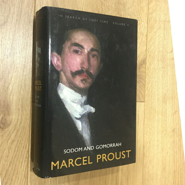 Proust; In Search of Lost Time, Volume 4: Sodom and Gomorrah hardback Allen Lan