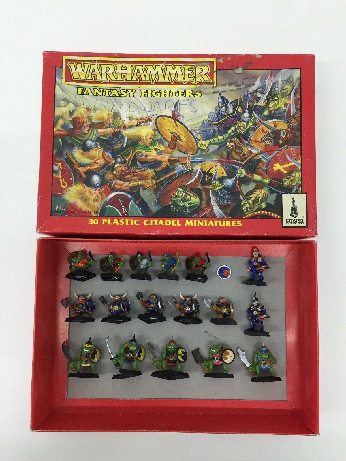 WARHAMMER FANTASY AGE OF SIGMAR FANTASY FIGHTERS REGIMENTS OLDHAMMER BOXED SET