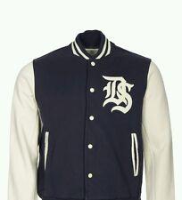 Denim & Supply Ralph Lauren Mens Baseball Varsity Patch Jacket Sz XL THESPOT917