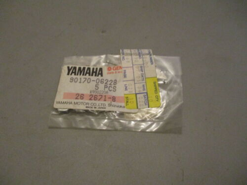 NOS Yamaha OEM Nuts QTY5 1994-1997 YZF750 2001-2005 YFM660 90170-06228