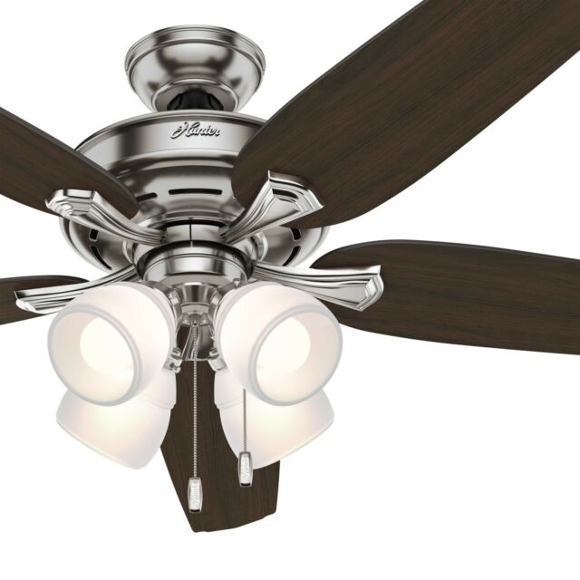 Hunter 60 Led Ceiling Fan With 4