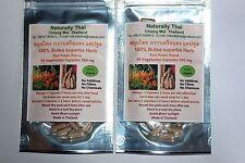 Organic Butea superba - Red Kwao Krua - 350mg x 120 Veg Capsules - Sexual Health