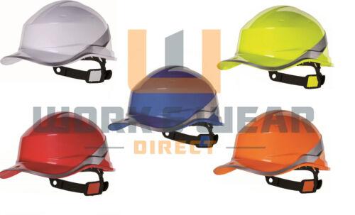 DELTA Plus Venitex DIAMOND Berretto Da Baseball Stile Cappello Rigido con Hi Vis Band in magazzino
