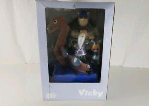 Vicky The Viking Urobe Faxe Ensemble De Figurines En Vinyle Pvc Bio Kidrobot Kaws Dunny Nouveau