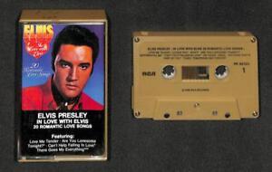 Mega Rare Elvis Presley In Love Romantic Love Songs