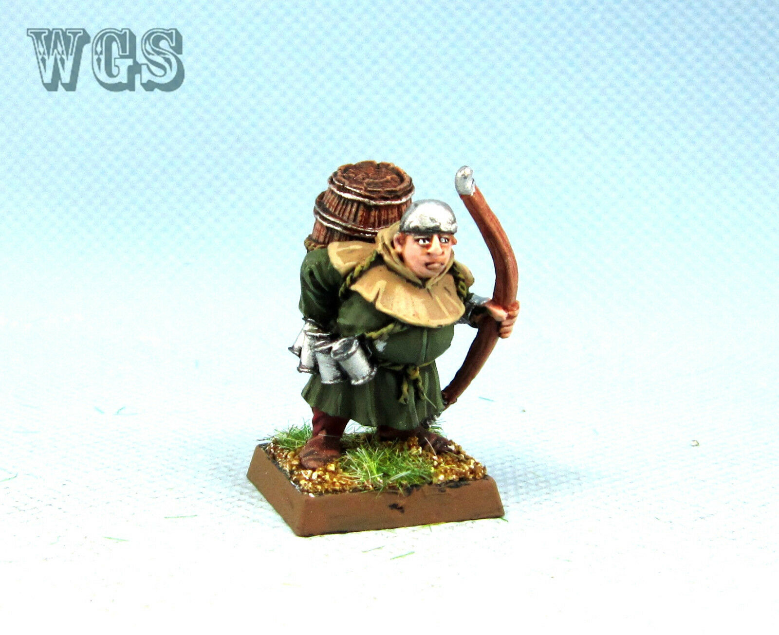 25mm Warhammer WGS painted Bretonnian Gui Le Gros BR009