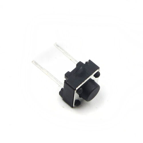 50//100PCS 6x6x5mm Tactile Push Button Switch 2 PINS 6*6*5 mm Micro Switch
