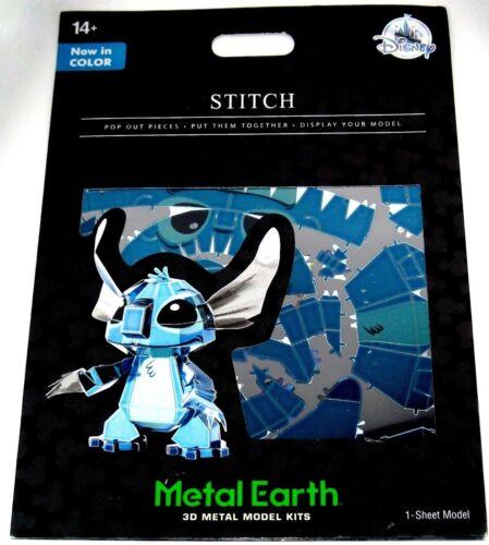 Disney Park✿Metal Earth 3D Model Kit✿Lilo and Stitch Blue Colored Favorite Alien