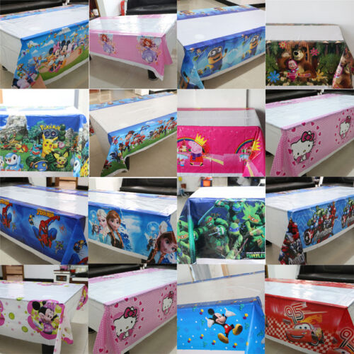 Cartoon Party Table Cover NEW Themed Tableware Tablecloth Table Cover