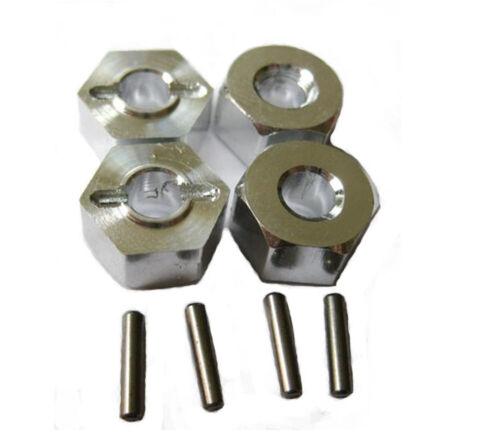 Aluminum Alloy metal Upgrade DIY parts Silver Fit For 1//10 HPI WR8/_flux Rc Car