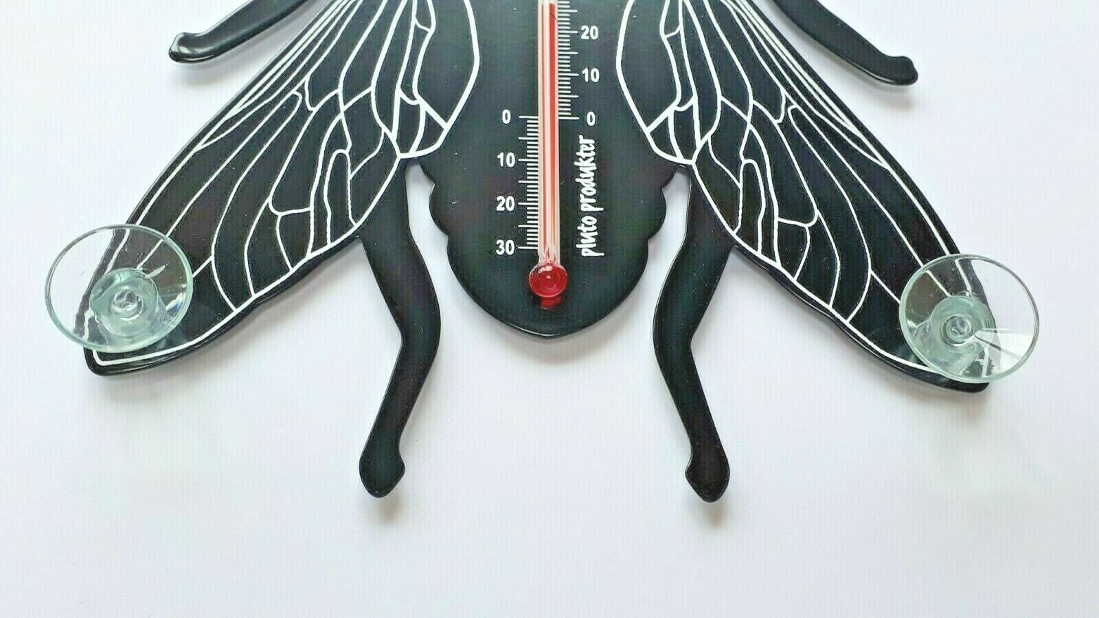 Fly shaped indoor/outdoor thermometer by Pluto Produkter