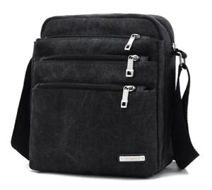 Canvas Shoulder Crossbody Messenger Travel Mens  Small Daypack  Casual Bag