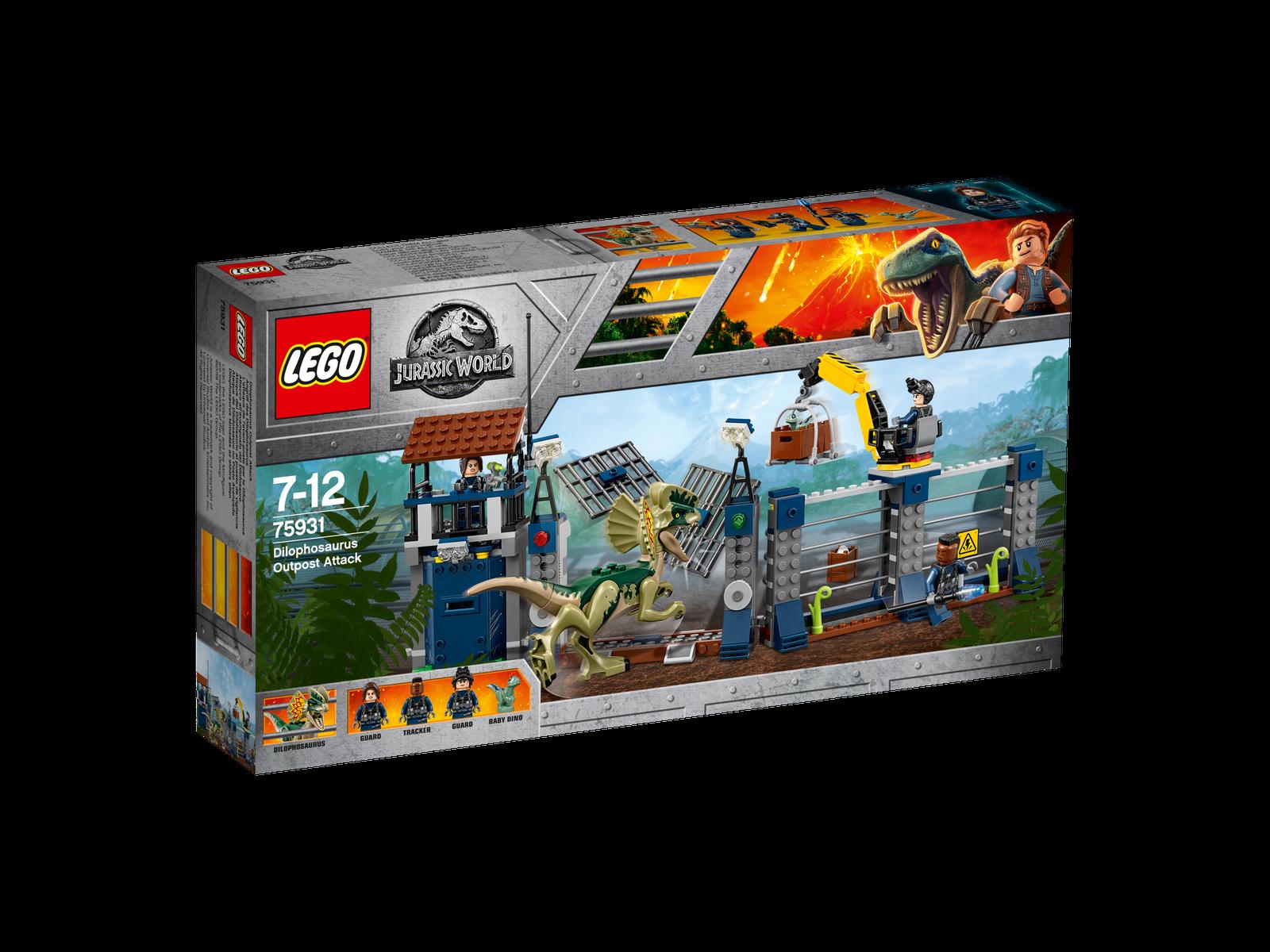 LEGO® Jurassic World™ 75931 Angriff des Dilophosaurus NEU OVP NEW MISB NRFB