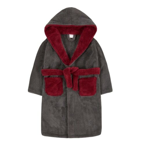 Boys Dressing Gown Personalised with Monogram or Name Great Xmas Gift