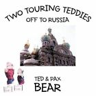 Two Touring Teddies off to Russia 9781463409265 by Ted and Pax Bear Paperback