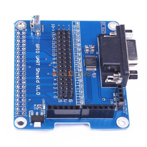 40 Pin//2SPI//1I2C//RS232 GPIO UART Expansion Board Module Raspberry Pi 3B//2B//B