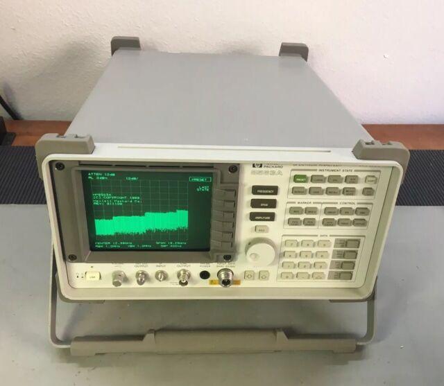 HP 8563A Spectrum Analyzer 9 kHz - 22 GHz