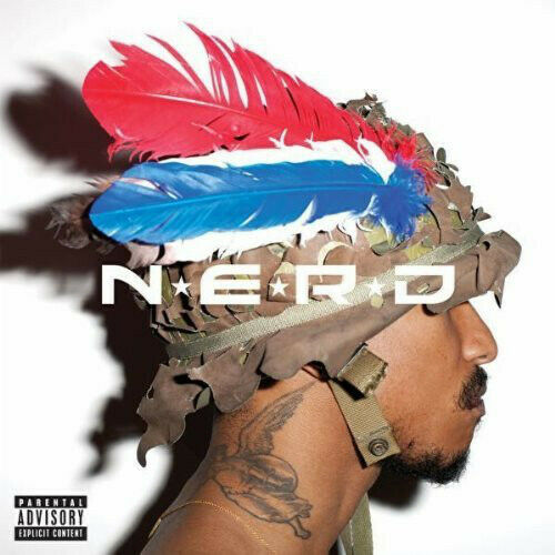 N*E*R*D ‎– Nothing Vinyl 2LP Star Trak 2010 NEW/SEALED 180gm N.E.R.D